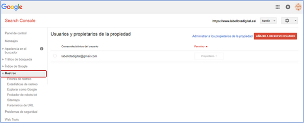 Search Console Paso 1