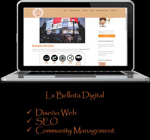 Caso de éxito La Bellota Digital