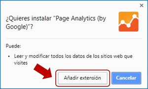 Instalación extensiones Chrome 3